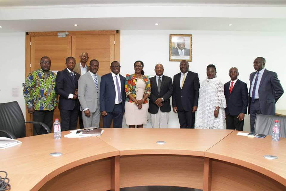 Inauguration of Ghana Post New Board Members