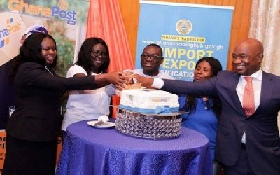 Ghana Post, Westblue launch Valuation Center and E-Commerce Platform