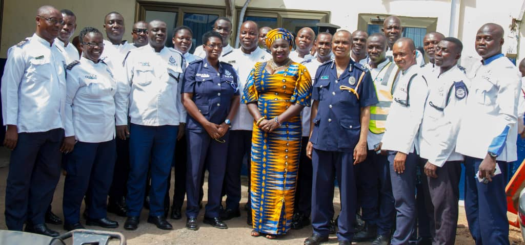 Accident investigators and prosecutors trained on GhanaPost GPS App
