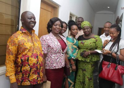 Ghana Post MD, new board members meet Asantehene