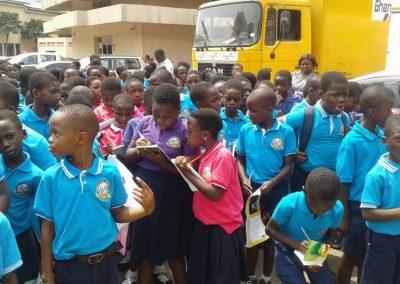 University of Ghana Basic school tours Ghana Post Headquarters